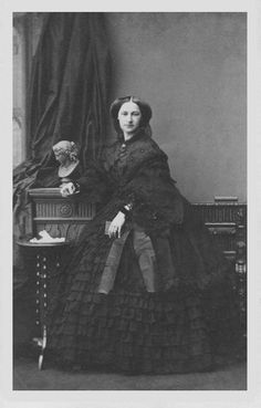 1860 (21 November) Adelaide of Schleswig Holstein by Camille Silvy From Paul Frecker. She was the daughter of Queen Victoria's half-sister Feodora von Hohenlohe-Langenburg as was Feodora of Saxe-Meiningen. Adelaide's daughter Augusta Viktoria married the future Kaiser Wilhelm II.