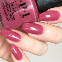 Turn On the northern Lights! – Hanninator Mauve Nail Polish, Gel Nail Polish Colors, Mauve Nails, Nail Colors, Light Pink Nail Polish, Opi Gel Nails, Fun Nails, Pretty Nails, Manicures