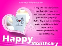 Monthsary Messages For Girlfriend Messages, Greetings and Wishes - Messages, Wordings and Gift Ideas Happy Monthsary Message, Happy Monthsary Quotes, Monthsary Message For Boyfriend, Message For Girlfriend, Love Message For Him, Love Quotes For Her, Anniversary Quotes For Girlfriend, Anniversary Wishes Message, Happy Anniversary Quotes