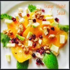 Orange and Walnut Salad