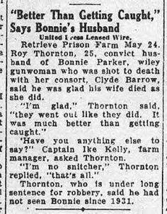 The Bonnie & Clyde Picture Album - Bonnie And Clyde Death, Bonnie And Clyde Photos, The Bonnie, Bonnie Clyde, Bonnie Parker, Lisa Parker, Famous Outlaws, Elizabeth Parker, The Babadook