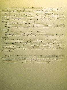 Desiertos Cicatriz III, (detail) - 2008