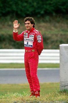 Ayrton Senna - Marlboro  McLaren - Honda