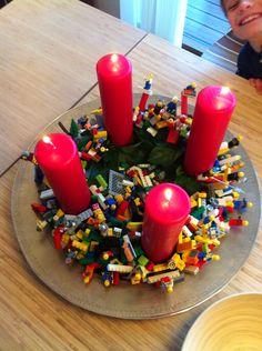 Adventskrans, Lego tema