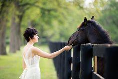 Horse Ranch Bridal Portraits