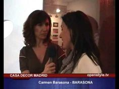Proyecto de Barasona Diseño y Comunicacion en Casa Decor Madrid. Openstyle tv