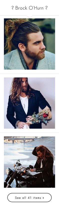 """"""" Brock O'Hurn """" by hooligxns ❤ liked on Polyvore featuring brock o'hurn"""
