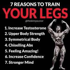 Build Massive Strong Legs & Glutes With This Amazing Workout And Tips! Build Massive Strong Legs & Glutes With This Amazing Workout And Tips!Your next leg day awaits! If you're up to the challenge, this l Leg And Glute Workout, Leg Workout At Home, Fat Workout, Bigger Legs Workout, Increase Testosterone, Big Legs, Strong Legs, Muscle Fitness, Fitness Diet
