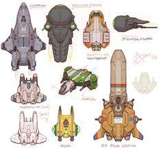 Wing Commander 1 fan-art and concepts. Concept Draw, Robot Concept Art, Robot Art, Character Creation, Character Concept, Character Design, Spaceship Art, Spaceship Design, Aliens