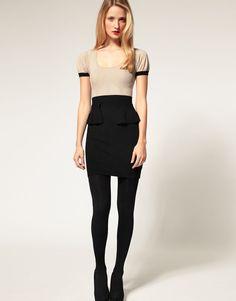 Super Beige Work Dresses