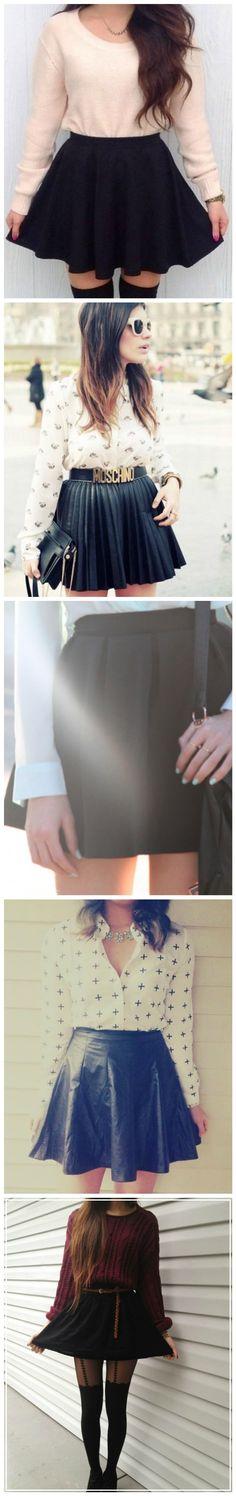 Saia Preta / Black Skirt