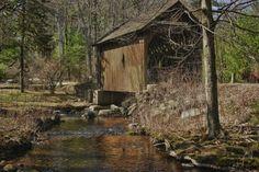 covered bridges | Swamp Meadow Covered Bridge