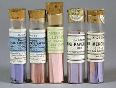 Litmus paper, 1934, Merck Corporation