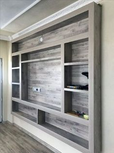 New Living Room Tv Wall Entertainment Center Barn Doors Ideas New Living Room, Living Room Decor, Living Room Ideas For Tv, Decor Room, Room Art, Small Living, Living Area, Bedroom Decor, Tv Wanddekor