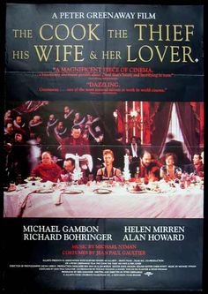 The Cook, The Thief, His Wife & Her Lover (HD) Trailer