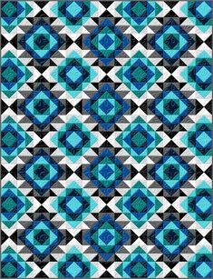 Sonoma Solids - Sparkling Solids I Free Quilt Pattern