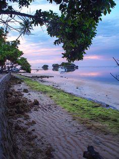 Sunrise at Wangi Wangi island Wakatobi-South East Indonesia