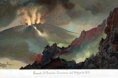 Vesuvius - Eruption 1872