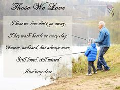 Those we Love - Funeral Quote Funeral Quotes, Our Love, Encouragement, Reading, Reading Books