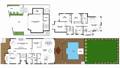 The House the A-M built. Love the layout of the downstairs bathroom Queenslander, House Front, House Floor Plans, Traditional House, My Dream Home, Ideal Home, Great Rooms, Home Projects, Home And Family