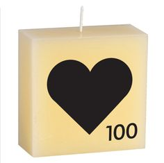 Scrabble Candle wedding