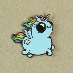 Bindlewood Shop - Rainbow Ponycorn Pin