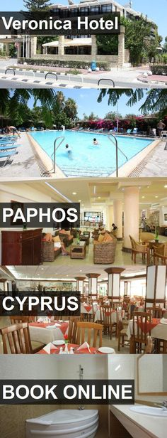 Veronica Hotel in Paphos, Cyprus. For more information, photos, reviews and best prices please follow the link. #Cyprus #Paphos #travel #vacation #hotel