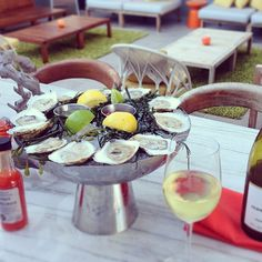 Join us for #HappyHour and $1 oysters and then stay for our #MiamiSpice 3-course #dinner! #NationalOysterDay #Oysters #FreshFoods #FSTaste