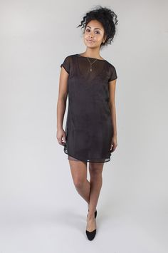 Seamwork Style: Lisbon slip and Akita dress