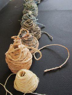 shades (paper yarn)