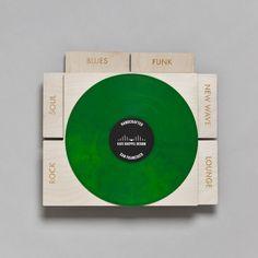Genre Record Dividers, Set of 6 - Kate Koeppel Design  - 1