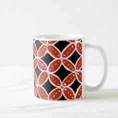 batik siti 04 coffee mug - home gifts ideas decor special unique custom individual customized individualized