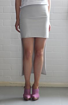 LOVE AESTHETICS | by Ivania Carpio: DIY | Last Minute Cut Out Skirt