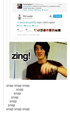 SASSY PHIL. IVE TAUGHT MY SON WELL