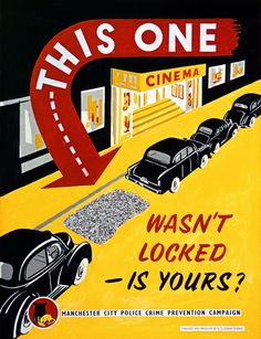 Crime Prevention Advice from the 1950s...Still Relevant Today | Flickr - Photo Sharing!