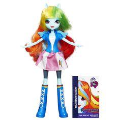 "My Little Pony Equestria Girls Collection Rainbow Dash Doll - Hasbro - Toys ""R"" Us"