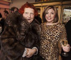 At the famous Antiques Diva party each January during maisonobject Paris Flea Market Vogue Toma Clark Haines The Antiques Diva Lynn Yaeger
