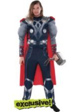 Adult Thor Muscle Costume - Party City
