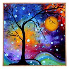 Deny Designs Madart Inc. Winter Sparkle Framed Wall Art - 13095-FRWALA