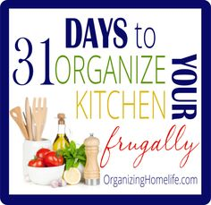 How to Organize Your Kitchen Frugally