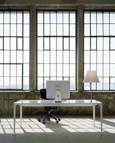 Loft con arredo in stile industriale