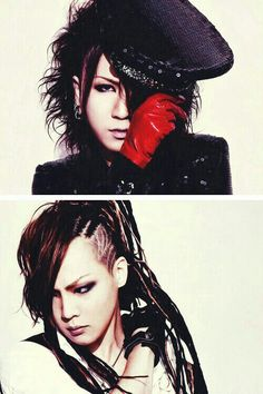 Ruki. Kai. The GazettE.