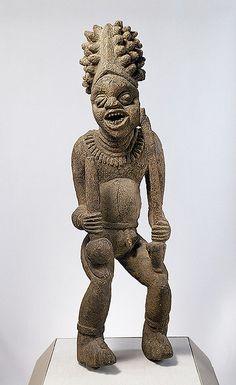 Cameroon - Bangwa Royal Figure (Metropolitan Museum of Art, NYC) | Flickr - Photo Sharing!