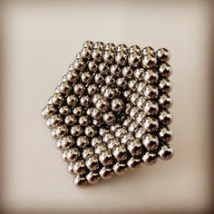 Tutorial on how to make a spinning top from zen magnets, buckyballs, neocube. Transform your magic balls into a spinner. Cool Shapes, Spinning Top, Balls, Cube, Magnets, Dots, Make It Yourself, Cool Stuff, Check
