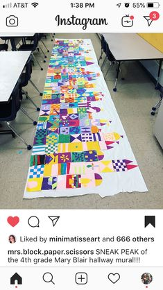 Thomas W. Collaborative Art Projects, Group Projects, Castle Project, Art Lessons Elementary, Upper Elementary, Art Journal Prompts, Art Classroom, Disney Classroom, Mary Blair