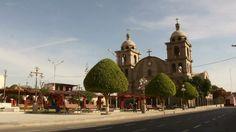 Plaza de Armas de Palpa, Ica, Perú