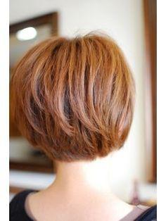 トレフル ヘアーデザイン(trefle hair design) ショートボブ Short Hair Cuts, Short Hair Styles, Pixie Cuts, Hairstyles Haircuts, Wedding Hairstyles, Long Relationship, Short Wedding Hair, Copper Hair, Women Life