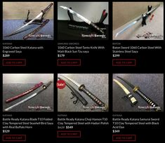 Get discount codes for samurai swords at Ninja Learning Network