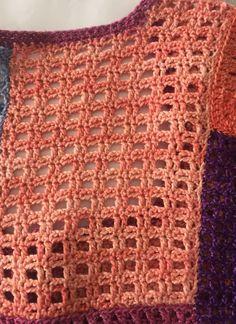 Blokhulp met Sigeunertop-patroon – A HankiDori Day Afghan Patterns, Crochet Blanket Patterns, Baby Blanket Crochet, Crochet Crafts, Crochet Yarn, Crochet Projects, Crochet Top, Crochet Leaves, Crochet Flowers