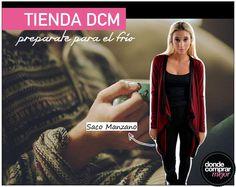 ¡Qué fresquito! ¡Nada de salir hasta conseguir nuestro abrigo de www.tiendadcm.com! ¿Optás por muchas capas o una sola prenda bien abrigada?